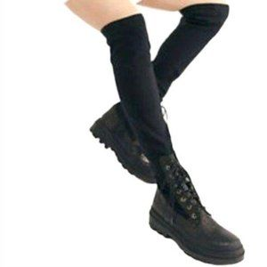 Free People Shoreditch Tall Combat Boots-N1260
